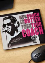 Kliff. Our coach is hotter than your coach!
