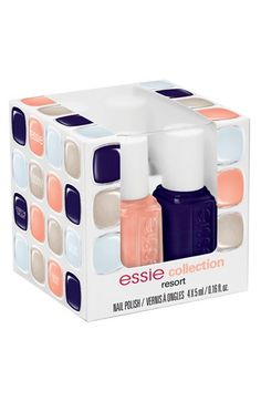 nail color, resort collect, gift, nail polish, essi resort, resorts, beauti, resort fling, mini