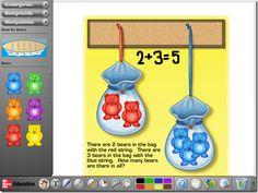 McGraw Hill math website!  Teachers can select grade and manipulatives (free!!)