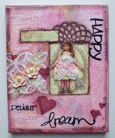 Original Mixed Media Art on Canvas  Inspirational by KCInspired, $14.99