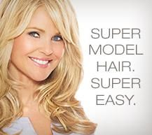 The New! Christie Brinkley Collection by #hair2wear. Supermodel hair, super easy. #wigs #extensions