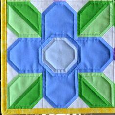 Flower Power Quilt Block | Free Quilt Tutorial | FaveQuilts.com