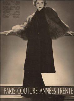 couture années 30