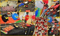 birthday parti, lego ninjago, ninjago birthday, unicorn, ninjas, balloon, bday parti, parti idea, ninjago parti
