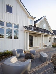 Farmhouse Exterior Design, Pictures, Remodel, Decor and Ideas - page 3