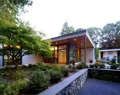 Modern Exterior Painted Brick Design, Pictures, Remodel, Decor and Ideas - page 7