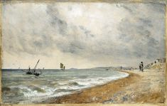 Hove Beach, with Fishing Boats, John Constable, 1824
