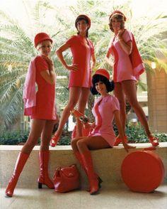 60s flight attendants