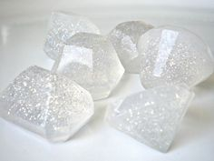 Handful of Jewels Soap  Set of 6 by smallthingsforsale on Etsy, $5.00