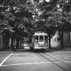 DC Transit Streetcar in Georgetown.