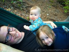 Camping with infants {from @Jen Bauer}