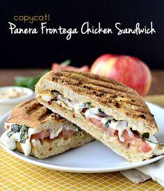 Copycat Panera Frontega Chicken Panini