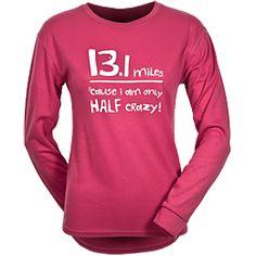 Half marathon shirt
