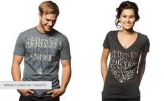 Sevenly.org who are making a huge difference, with a great cause every week!!!