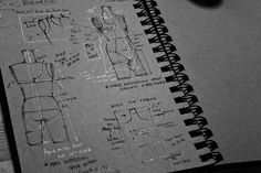 Fashion Sketchbook - fashion design drawings; swimwear sketches; creative process // Peter Do