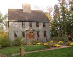 Colonial Exterior Color Scheme