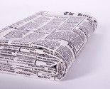 Newspaper Fabric: To Upholster Chair