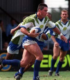 FLASHBACK: Canberra Raiders lock Brad Clyde from the 1997 season.
