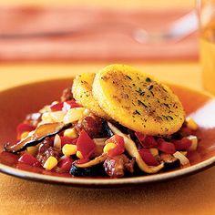 Polenta-Sausage Ragout | Health.com