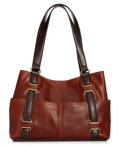 Tignanello Handbag, Vintage Classic Shopper