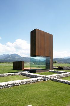 Römervilla by Marte.Marte Architekten | Feldkirch | austria-architects.com. Astrogeographic position: located on an open field in the functionalistic, self protective, highly defensive earth sign Virgo the sign of the spirits of plants and defensive, closed up water sign Sorpio the sign of metal working, containers, closed-up buildings and fortresses. field level 4.