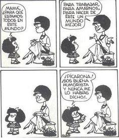 mafalda picarona, sempr mafalda, siempr mafalda, risa, humor, frase, ego mafaldita, amiga mafalda