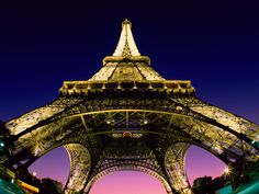 Paris and the Eiffel Tower!