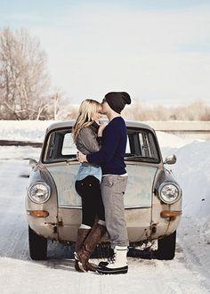 snow kiss