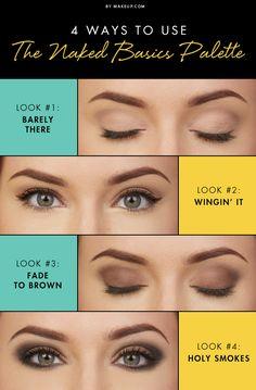 Beauty Tutorial: 4 Ways to Use the Naked Basics Palette