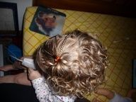 Curly Hairdo Ideas: Baby Hairstyle Ideas ~ How to Style Toddler Curly Hair - Im confident Ill need this if I ever have a baby girl...