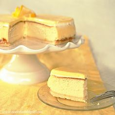 Extra Creamy Lemon Cheesecake With Shortbread Crust And Lemon Glazed Whipped Topping- So DELICIOUS !