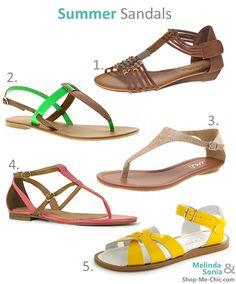 So I have a slight sandal obsession...!