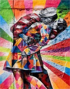 Kobra Mural in New York's Chelsea