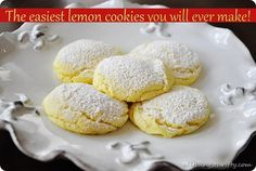 Lemon Cake Mix Cookie Recipe