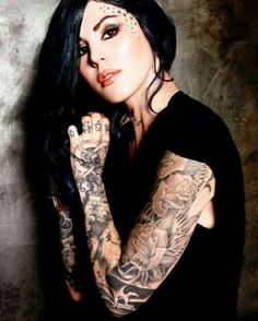 artists, girl crushes, dream, star tattoos, the queen, kat von, a tattoo, eye, ink
