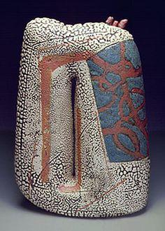 Yoshiro Ikeda  - Abstract Ceramic Sculpture