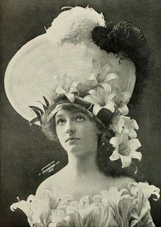"""""""Easter lilies"""", 1904. #vintage #Edwardian #classicism #Easter #spring"""