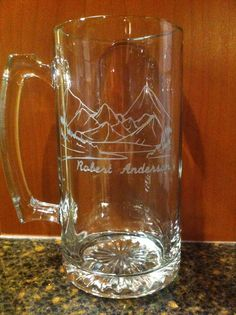 Beer Mugs, Groomsmen gifts, Father of the Bride, Thank you gifts, Custom etching