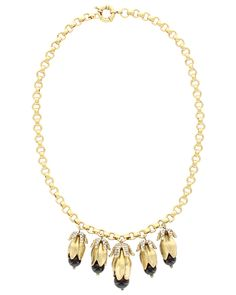 Spotted this Sparkling Sage 14K Plated Crystal & Resin Pod Necklace on Rue La La. Shop (quickly!).