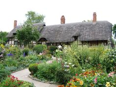 william shakespeare, cottag garden, dream, english cottages, cottage gardens, ann hathaway, garden tips, place, anne hathaway
