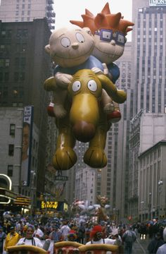 Rugrats Thanksgiving Day Parade balloon...