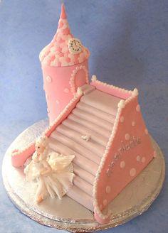 Cinderella Cake by *ginas-cakes on deviantART