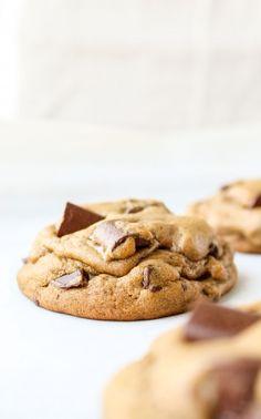 Chocolate Chunk Gingerbread Cookies