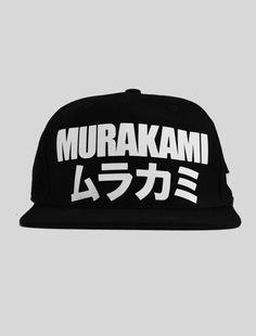 Murakami Black Cap #murakami #cap