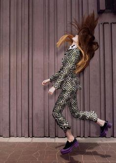 Dillon Duchesne in Madame Figaro Japan September 2012 by Camille Vivier #fashion #photography #editorial #print #moda #hair #fotografía