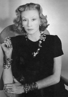 Millicent Rogers, socialite and Indian American jewelry collector.