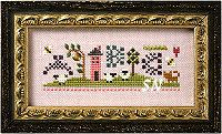 Stitch Lesson Samplers from Lizzie*Kate - click for more