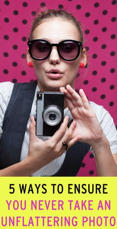 tips for looking great in photos
