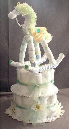Made out of diapers!