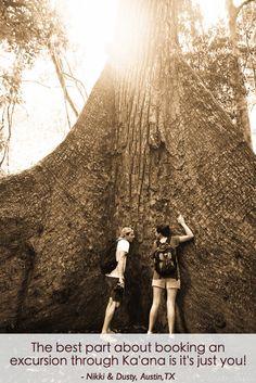 Private Tours of the Belizean jungle with Ka'ana Resort. #luxurytravel #adventuretravel